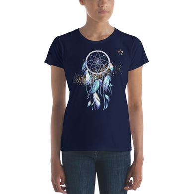 Women's short sleeve dreamcatcher t-shirt