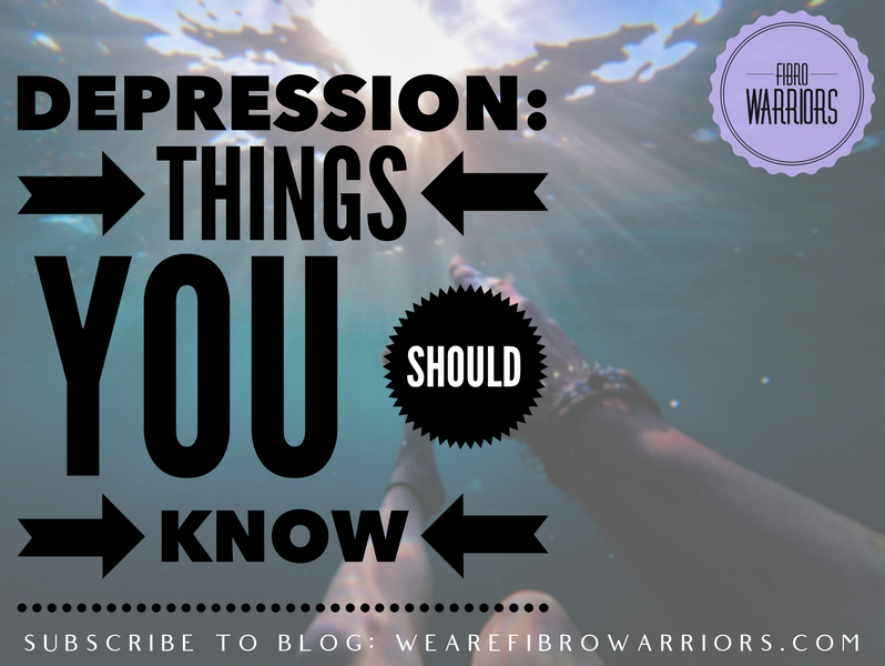 Depression: Things You Should Know