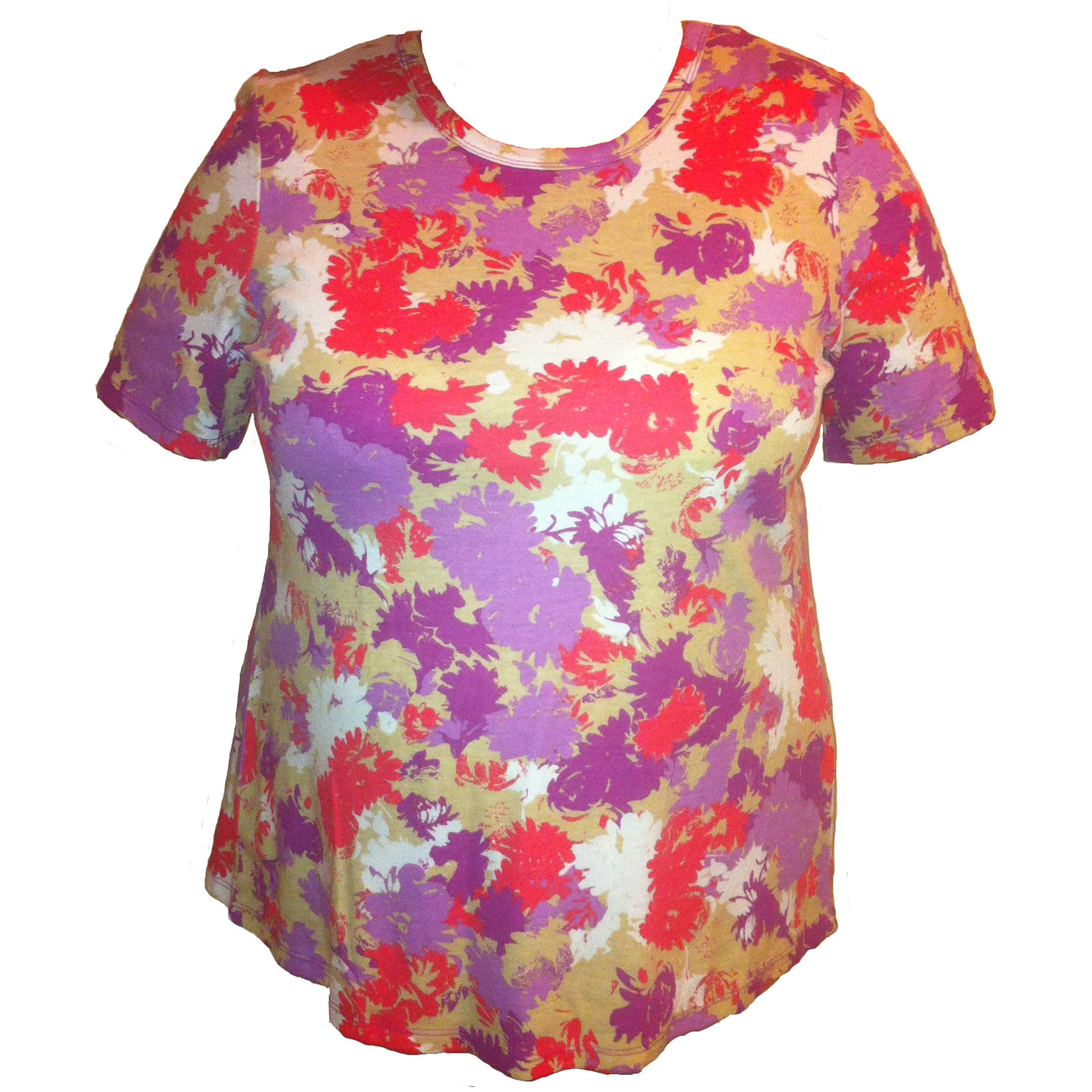 (L2) FLORIADE - SAND - SHORT SLEEVE T-SHIRT - Adaptive Fitz Clothing