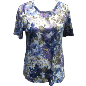(L2) SOPHIE - LAVENDER - SHORT SLEEVE T-SHIRT - Adaptive Fitz Clothing