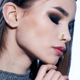Mobody 3 Pack 20g Nose Ring Piercing Hoop Paved Cz Crawler Surgical Steel Cartilage Earring Set 8mm Mobodyjewelry Com