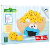 Small Foot Sesame Street Balance See-Saw - Cookie Monster