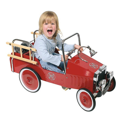 Goki Pedal car fire engine