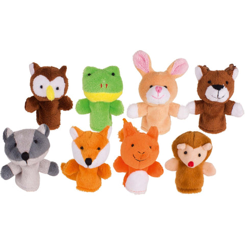 Goki Finger Puppet, Forest Animals-Toy-Rockaway Toys
