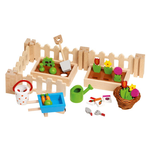 Goki Doll's House Accessories - My Little Garden For Dolls' Houses-Toy-Rockaway Toys