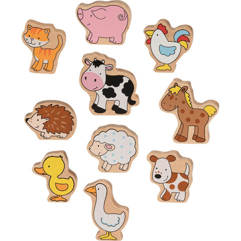 Goki Farm Animals-Toy-Rockaway Toys