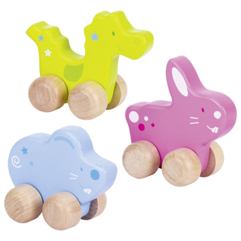 Goki Push-along Animals-Toy-Rockaway Toys