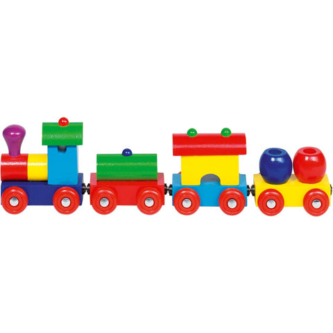 Goki Train Peru, with Magnetic Couplings-Toy-Rockaway Toys