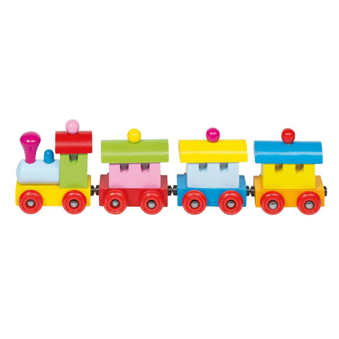 Goki Train Sofia, with Magnetic Couplings-Toy-Rockaway Toys