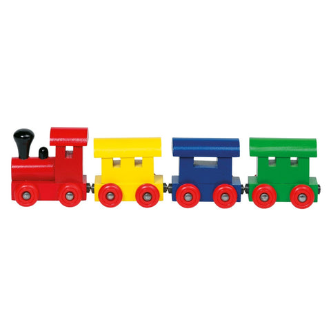 Goki Train Helsinki, with Magnetic Couplings-Toy-Rockaway Toys