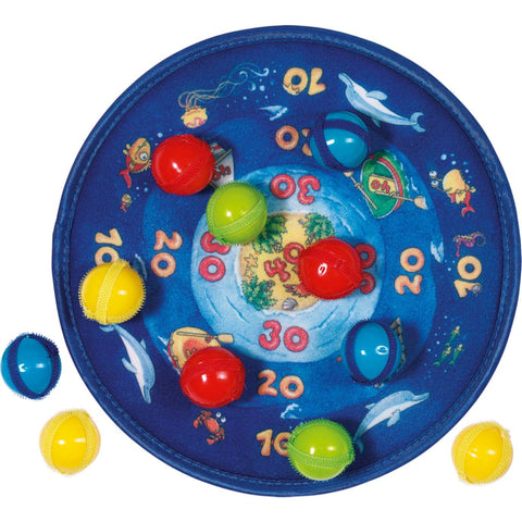 Goki Dart Ball Velcro Game - Ocean-Toy-Rockaway Toys