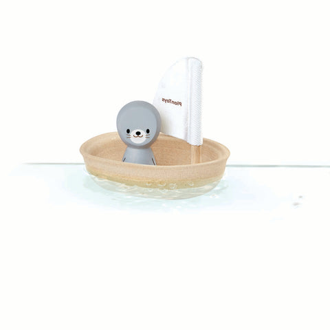 Plan Toys Seal Sailing Boat