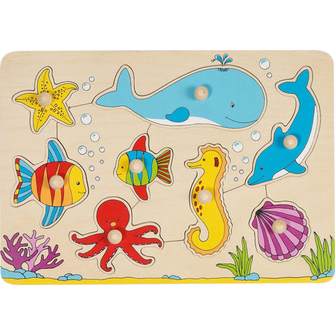 Goki Lift-out Puzzle - Underwater World-Toy-Rockaway Toys