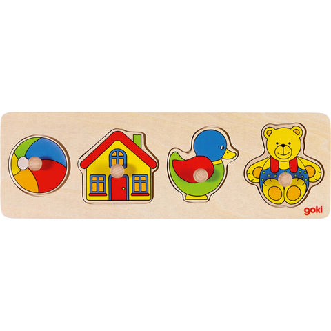Goki Lift-out Puzzle - Toys-Toy-Rockaway Toys