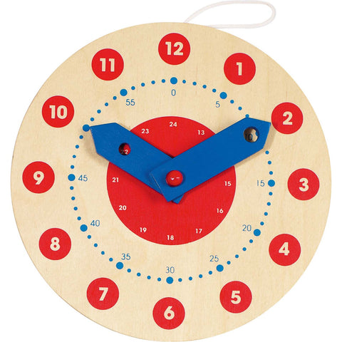 Goki Clock - Learn To Tell The Time-Toy-Rockaway Toys