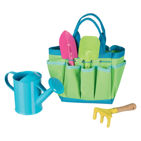 Goki Gardening Tools with Bag-Toy-Rockaway Toys