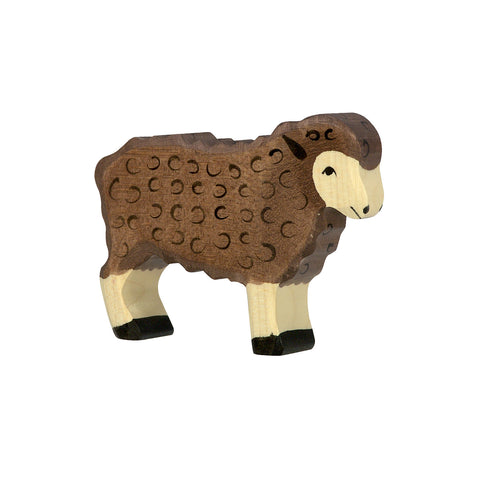 Holztiger Sheep - Standing, Black