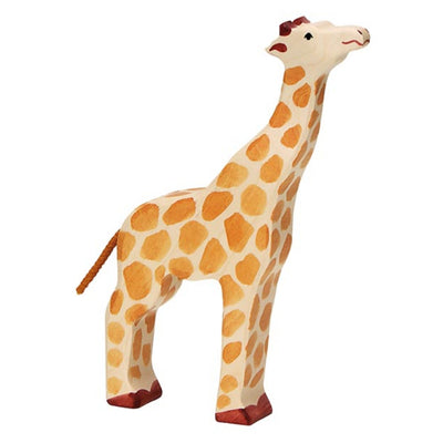 Holztiger Giraffe, Head Raised-Toy-Rockaway Toys