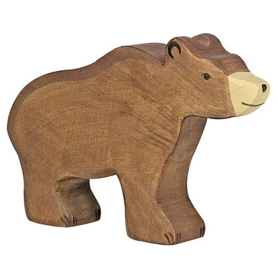 Holztiger Brown Bear-Toy-Rockaway Toys