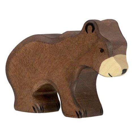 Holztiger Brown Bear, Small-Toy-Rockaway Toys