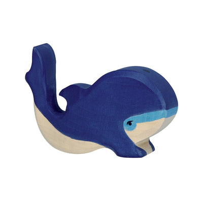 Holztiger Blue Whale Small-Toy-Rockaway Toys