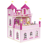 Goki 2 Storey Doll's Castle, with Extension
