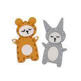 Fabelab Charm Craft - Bear & Bunny