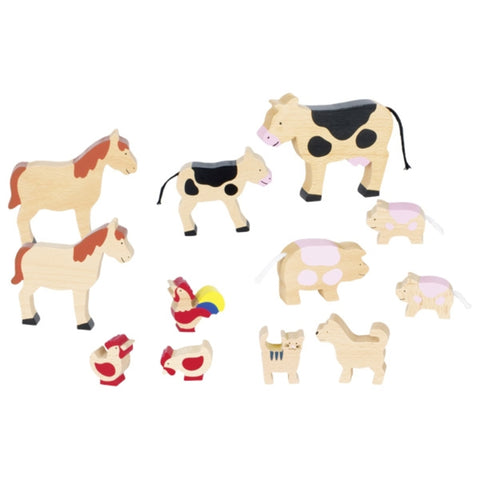 Goki Farm Animals-Rockaway Toys