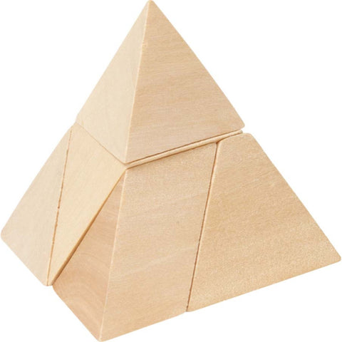 Goki Pyramid With 3 Sides Puzzle