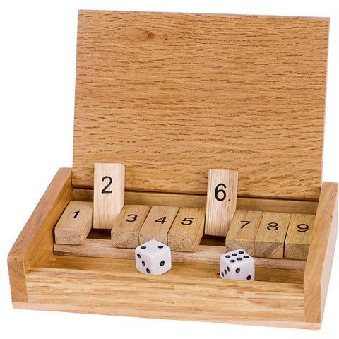 Goki Shut The Box Game-Toy-Rockaway Toys