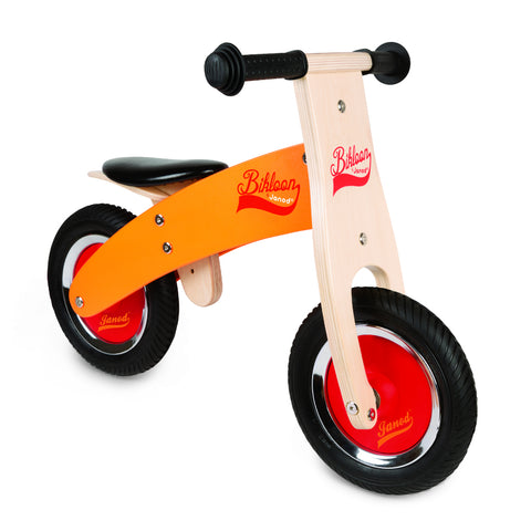 Janod Little Bikloon - My First Orange and Red Balance Bike