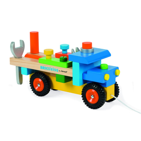 Janod Brico'Kids DIY Truck-Toy-Rockaway Toys
