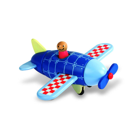 Janod Magnetic Airplane-Toy-Rockaway Toys