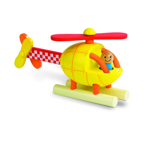 Janod Magnetic Helicopter-Toy-Rockaway Toys
