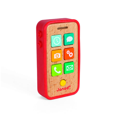 Janod Sound Telephone-Toy-Rockaway Toys