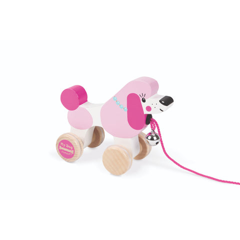 Janod My Dog - Pull Along Poodle-Toy-Rockaway Toys