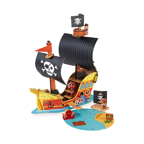 Janod Story Pirate Ship