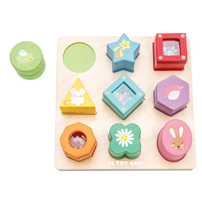 Le Toy Van Sensory Shapes-Toy-Rockaway Toys