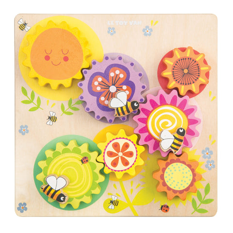 Le Toy Van Gears & Cogs 'Busy Bee Learning'-Toy-Rockaway Toys