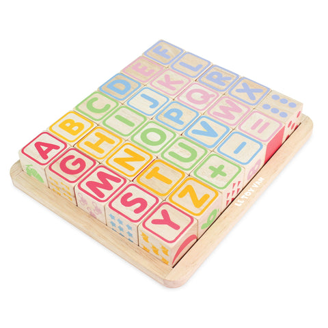 Le Toy Van ABC Wooden Blocks-Toy-Rockaway Toys