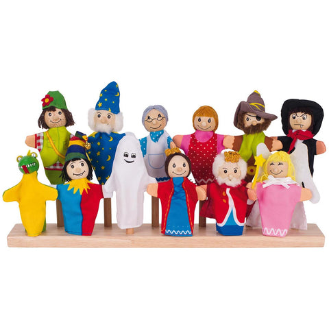 Goki Assortment of Fingerpuppets