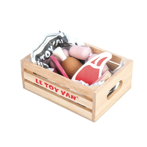 Le Toy Van Market Crate - Meat-Toy-Rockaway Toys