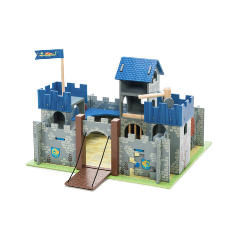 Le Toy Van Excalibur Castle Blue-Toy-Rockaway Toys