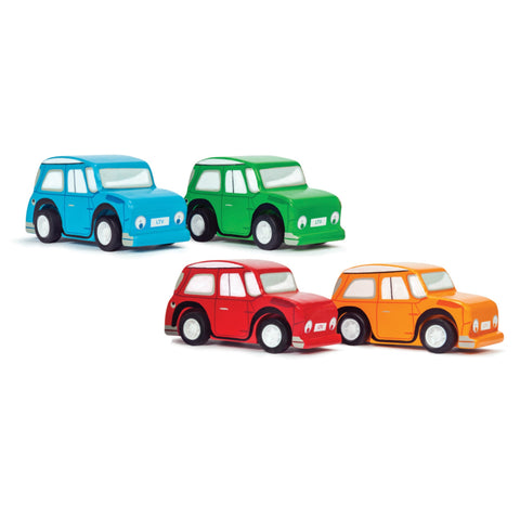 Le Toy Van Whizzy Pull-Back Car (1 car)-Toy-Rockaway Toys