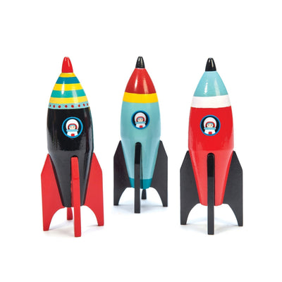 Le Toy Van Space Rocket (1 rocket)-Toy-Rockaway Toys