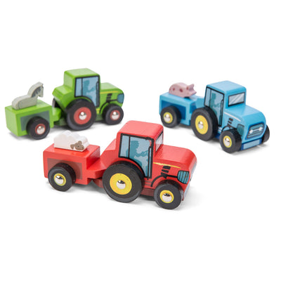 Le Toy Van Tractor Trails (1 tractor)-Toy-Rockaway Toys