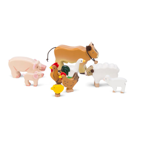 Le Toy Van Sunny Farm Animal Set-Toy-Rockaway Toys