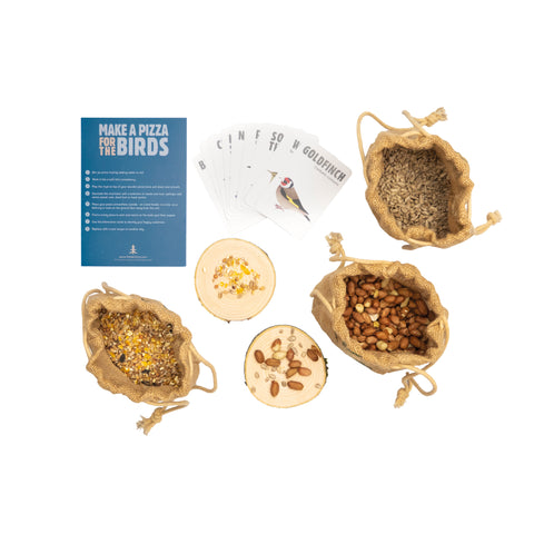 The Den Kit Company - The Make a Pizza for the Birds Kit