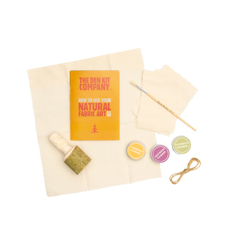 The Den Kit Company - The Natural Fabric Art Kit