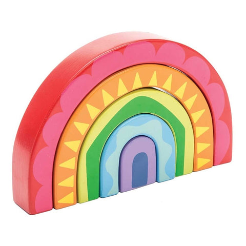 Le Toy Van Rainbow Tunnel-Toy-Rockaway Toys